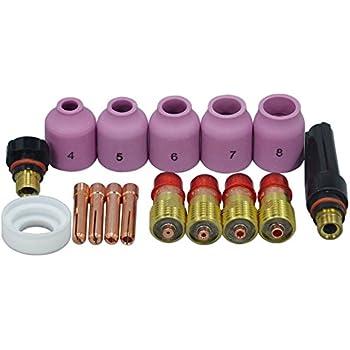 TIG Back Cap 57Y03 accessoires Pour Torche de Soudage TIG SR WP-17 18 26 Series Pack de 5