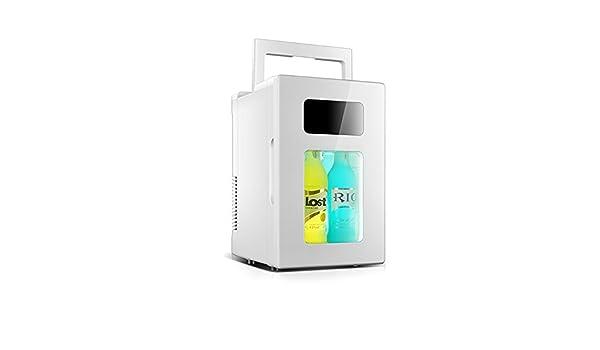 Kleiner Tragbarer Kühlschrank : Yqq l auto kühlschrank mikrokühlschrank reise kühlschrank