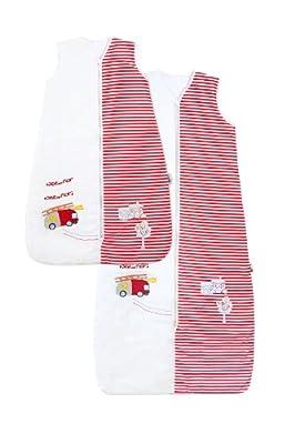 Bebé de Verano Saco de dormir 1 Tog - Varios tamaños: desde el nacimiento hasta los 10 años