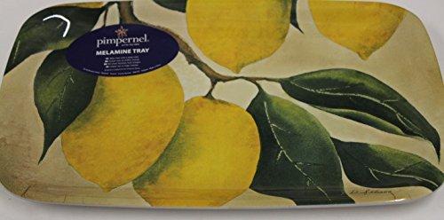 Pimernel Melamine Sandwich Tray-Orchard Lemon- Orchard Lemon-Melamine Sandwich Tray-39,0 x 20,5 -