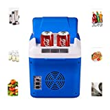 YIWANGO Portátil Refrigerador Frio Y Calor Mute Alta Eficiencia Viaje De Picnic Nevera Peso Ligero Ahorro De Energía Protección del Medio Ambiente Sin Contaminación Mini Refrigerador,Blue