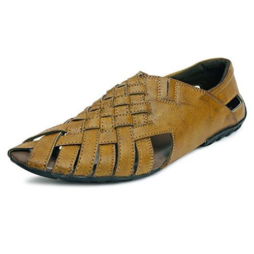 Bacca-Bucci-Men-Tan-LEATHER-Slippers
