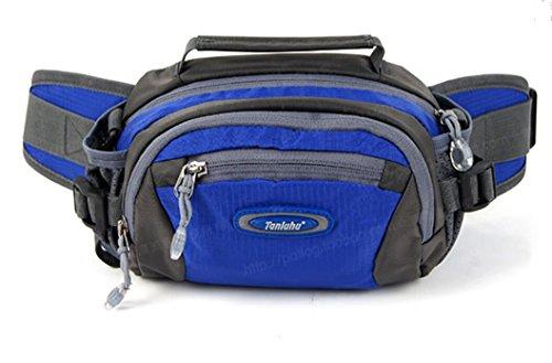 ZYT Im freien Reise Tasche Multifunktion Taschen Umhängetasche. Radfahren. laufen Sport Männer und Frauen days blue
