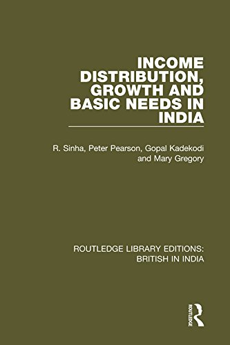 Income distribution growth and basic needs in india routledge income distribution growth and basic needs in india routledge library editions british in fandeluxe Gallery