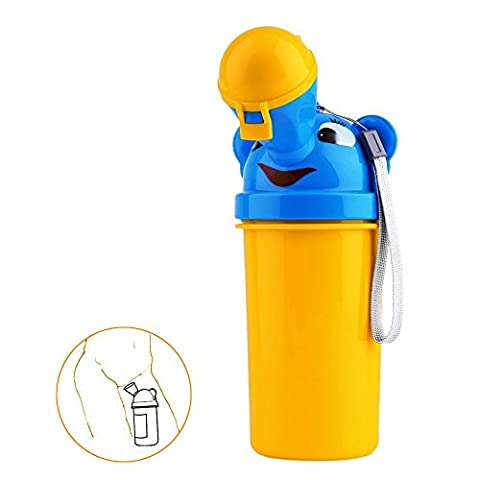 Portable Baby Boys Girls Potty Urinal Toddler Emergency Toilet for Camping Car Travel and Kid Potty Pee Training