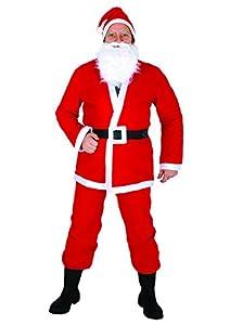 Ciao fc59308-Papá Noel Navidad, rojo/blanco, talla única