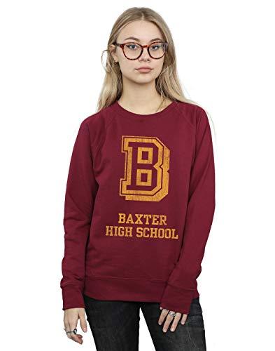 df9b29d524 Absolute Cult The Chilling Adventures of Sabrina Mujer Baxter High School  Camisa De Entrenamiento Borgoña Medium