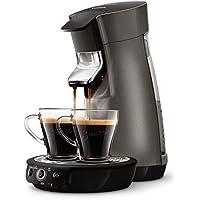 Philips HD7831/53 Machine à café dosettes SENSEO Viva Cafe Titanium + 2 tasses + 1 boîte à dosettes