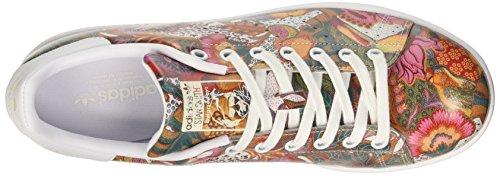 adidas Stan, Formatori Bassi Donna Multicolore (Footwear White/footwear White/off White)