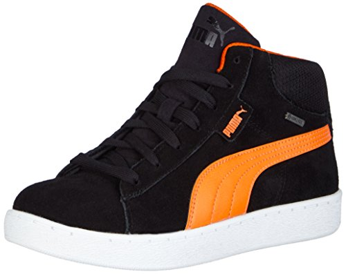 Puma - Puma 1948 Mid Gtx® Jr, Sneaker Unisex – Bambini Nero (Schwarz (black-vermillion orange 01))
