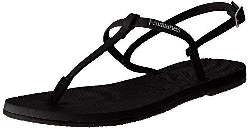 afe80176aed56 Havaianas Flip Flops - Havaianas You Riviera Sandals - Black