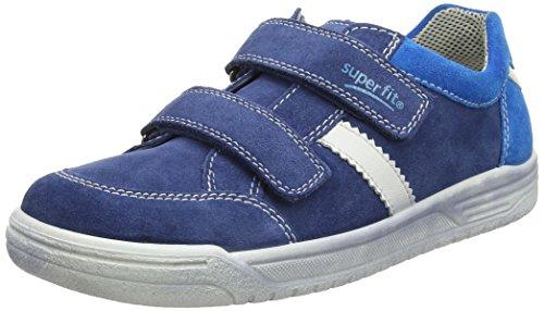 Superfit Jungen Earth Sneaker, Blau (Water Kombi), 35 EU