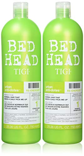Tigi BED HEAD Tween Duo Shampoo and Conditioner Re-Energize Tween, 1er Pack (1 x 1500 ml)