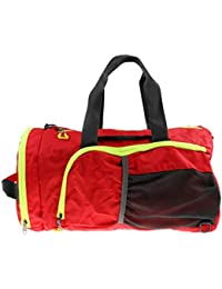 ELECTROPRIME High Quality Outdoor Travel Large Gym Bag Sports Bag Travel Duffel Bag Red