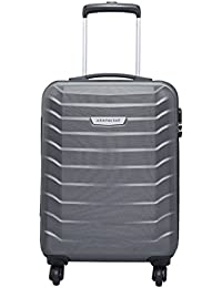 1984754921 Aristocrat Juke Polycarbonate 55.5 cms Grey Hard Sided Carry-On (JUKE55TMGP)