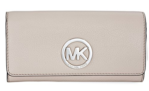 483b878745d238 MICHAEL Michael Kors Fulton Carryall Wallet (pearl grey)