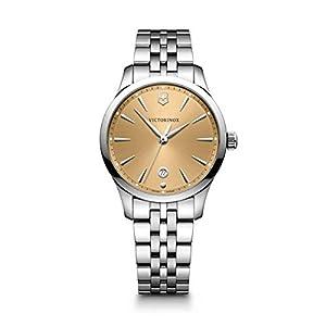 Victorinox Mujer Alliance Small – Reloj de Acero Inoxidable de Cuarzo analógico de fabricación Suiza 241829