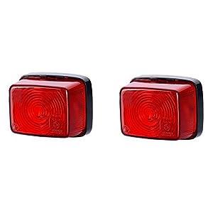 1 x 5 LED Kennzeichenleuchte 12V 24V mit E-Pr/üfzeichen Nummernschildleuchte Kennzeichenbeleuchtung Kennzeichen Auto SMD R/ück Hinten LKW PKW KFZ