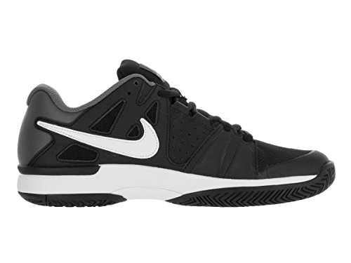 Nike Air Vapor Advantage Herren Tennisschuhe Schwarz / Weiß / Grau (Schwarz / Weiß-Dunkelgrau)