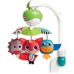 Tiny Love Take-Along Meadow Days - Móvil para bebés y juguete de actividad con música para cochecito, apto desde el nacimiento, a partir de 0 meses, 5 melodías
