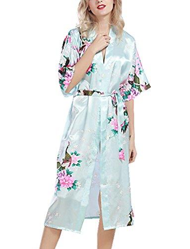 belloo-ladies-nightwear-dressing-gown-floral-robe-light-blue-xl