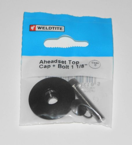 Weldtite Ahead-Top Cap and Bolt 11/8& The Little Bike Shop Bookmark by the Little Bike Shop -
