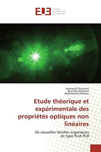 Etude théorique et expérimentale des propriétés optiques non linéaires
