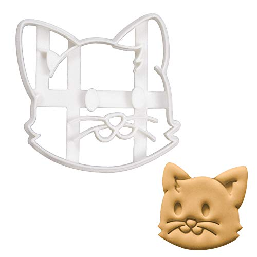 Bakerlogy Katze Gesicht Ausstechform, 1 Teil -