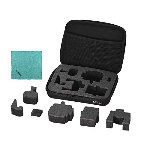 SJCAM Universal Action Kamera CAE Tasche Stoßfest für SJ5000 / SJ4000 / SJM10 / für GoPro Hero 6/5/4/3 + / 3/2/1 für Xiaomi Yi Sportkameras