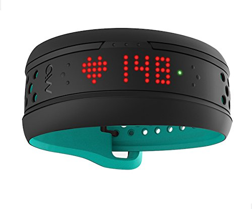 Mio FUSE Performance Activity Tracker mit Herzfrequenzmessung, Aqua, S/M