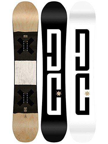 Dc shoes mega–snowboard per uomini adysb03029, multi-coloured, taglia unica