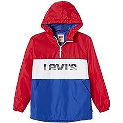Levi's Kids NN42007 37 Windbreak, Blouson Garçon, Rouge (Dark Red), 5 Ans (Taille Fabricant:5Y)
