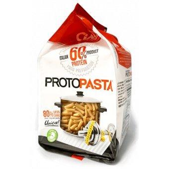 Pasta proteica 300 gr (6x50 gr) - sedani rigati - altissimo contenuto di proteine (60%) - sp601