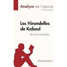 Les Hirondelles de Kaboul de Yasmina Khadra (Analyse de l'oeuvre): Résumé Complet Et Analyse Détaillée De L'oeuvre