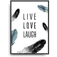 Fine Art Kunstdruck LIVE LOVE LA