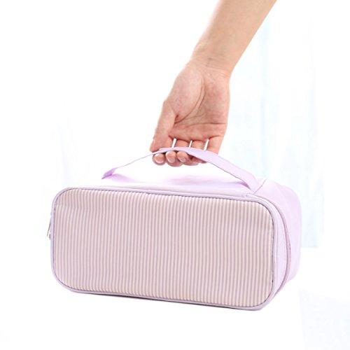 ROMEYA Trousse De Toilette Voyage Sac De Transport Le Stockage Les Hommes Et Les Femmes Sacs Portables Stockage Sac à Cosmétiques,01-14*28cm