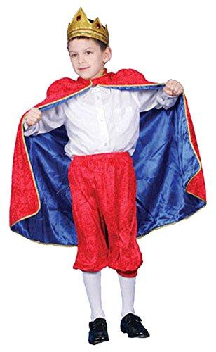 Dress Up America Wenig Junge Deluxe König David Kostüm ()