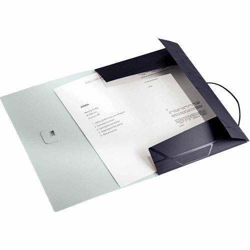 Preisvergleich Produktbild Leitz Eckspannermappe Prestige, A4, PP, schwarz