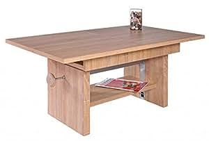 Tavolino da salotto event 110 x 65 altezza regolabile estendibile tavolo da salotto - Altezza tavolo da cucina ...