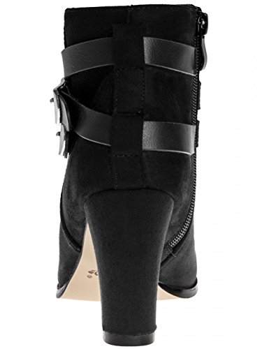 Damen Ankle Boots SBO051 Schwarz
