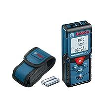 Bosch Professional Laserafstandsmeter GLM 40 (met geheugenfunctie, meetbereik: 0,15–40 m, 2x 1,5 V batterijen, opbergtas)