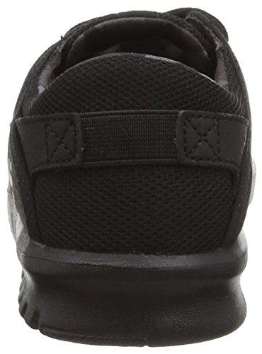 Etnies KIDS SCOUT, Chaussures de Skateboard mixte enfant Noir (Black Grey Black 005)