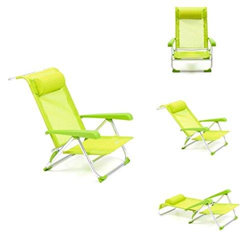 Spiaggina mare spiaggina alluminio lettino mare sdraio sedia mare