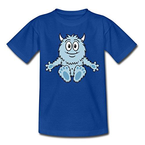 Kleines Monster Kinder T-Shirt von Spreadshirt®, 98/104 (3-4 Jahre), Royalblau