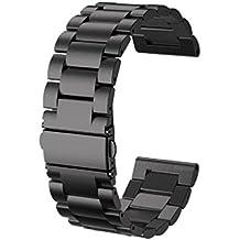 6a8a3647765c Amazon.es  correa reloj metalica negra