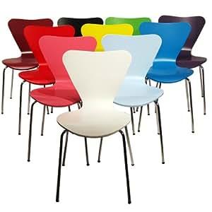Chaise style Arne Jacobsen série 7 Couleur ou combinaisons de couleurs au choix