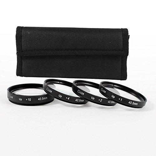 40.5mm Makro Nahlinse +1 +2 +4 +10 Filter Kit für DSLR-Kamera