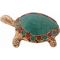 purpledip Messing Schildkröte/Turtle Idol mit Edelsteine und Magic Zahlen Lo Shu quadratisch Neun Halls Diagramm... preisvergleich bei billige-tabletten.eu