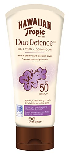 Hawaiian Tropic Duo Defence Sun Lotion Sonnencreme LSF 50 180 ml, 1 St