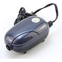 GOTTING Mini bomba de aire silenciosa potente bomba de oxígeno 220V acuario de la bomba del compresor de pescado tortuga del tanque de reducción de ruido